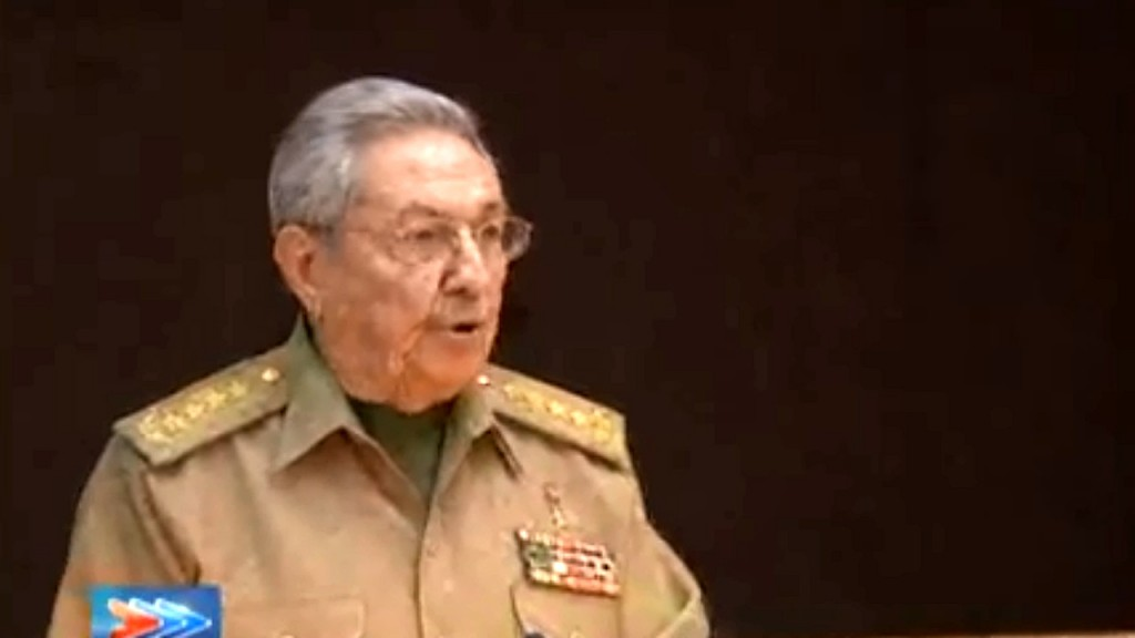 Cuba's National Assembly announces Miguel Diaz-Canel as new president