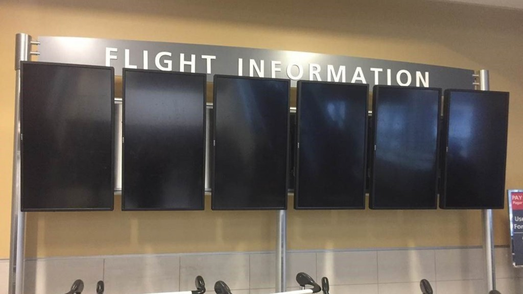 When the lights went out: 'Completely pitch black' at Atlanta airport