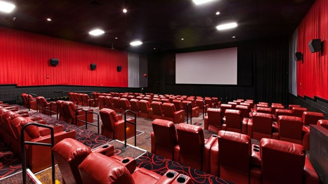 Images of previously renovated AMC theaters