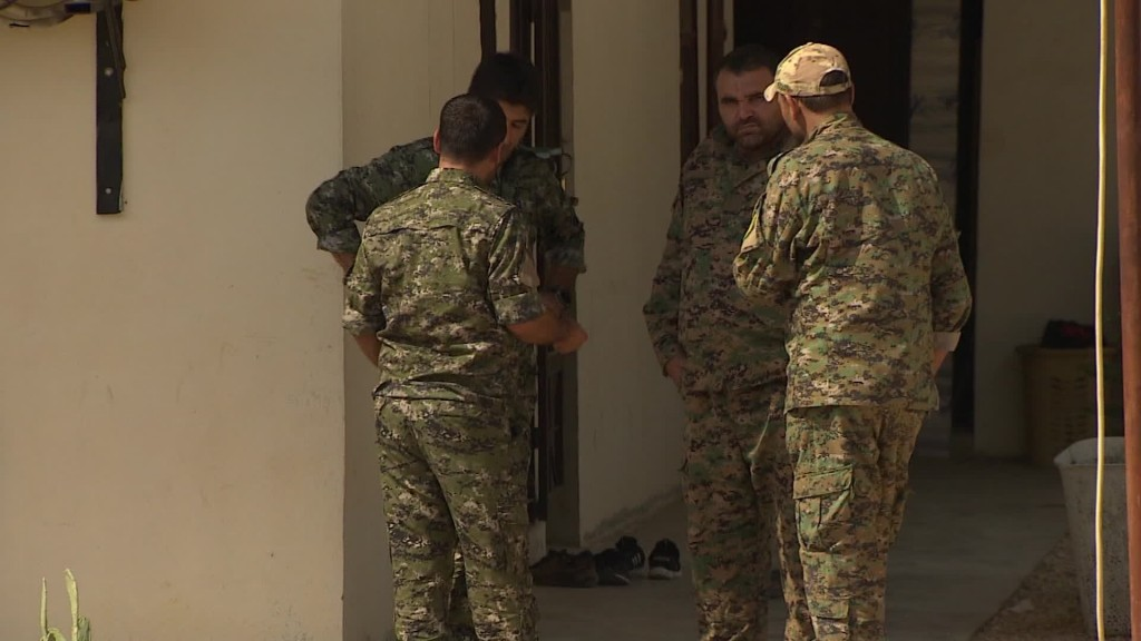 'Americans sold us out,' Kurds guarding US base in Syria say