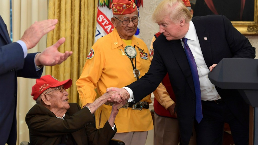 Navajo Code Talker who fought in WWII dies at 97