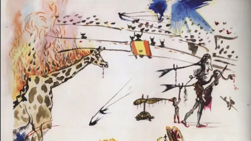Salvador Dali etching stolen from San Francisco art gallery