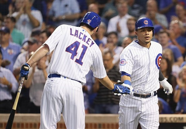 Cubs win eighth straight against Angels