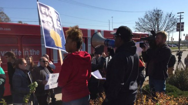 Madison workers join nationwide Fight for 15 minimum wage strike