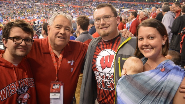 4-month-old Badgers fan may be youngest to attend Final Four game