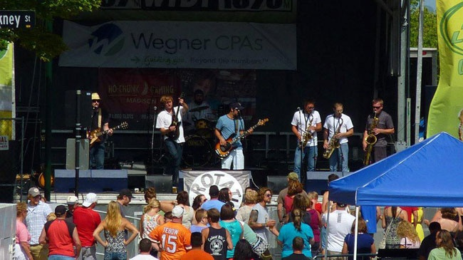 Sax-rock band The Rotation rolls into BBQ Fest