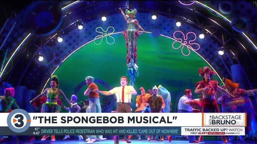 Backstage with Bruno: 'The SpongeBob Musical'