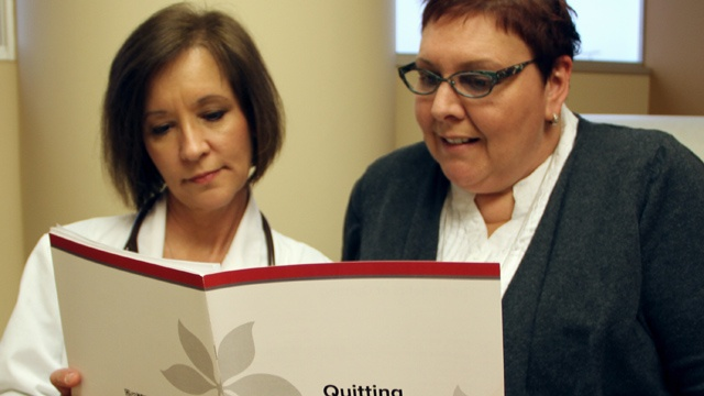 Smoking among cancer patients a tricky problem
