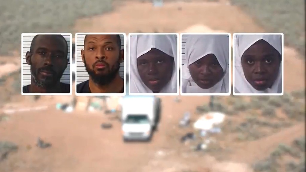 New Mexico compound suspects appear in court on federal charges