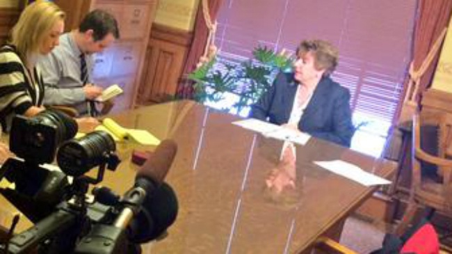Minn. lawmaker to lure business foes of right-to-work from Wis.