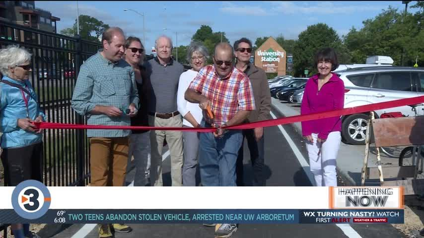 'Missing link' multi-use path hosts ribbon cutting