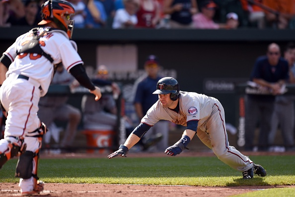 Pair of errors allow Twins to top Orioles 4-3 in 12 innings
