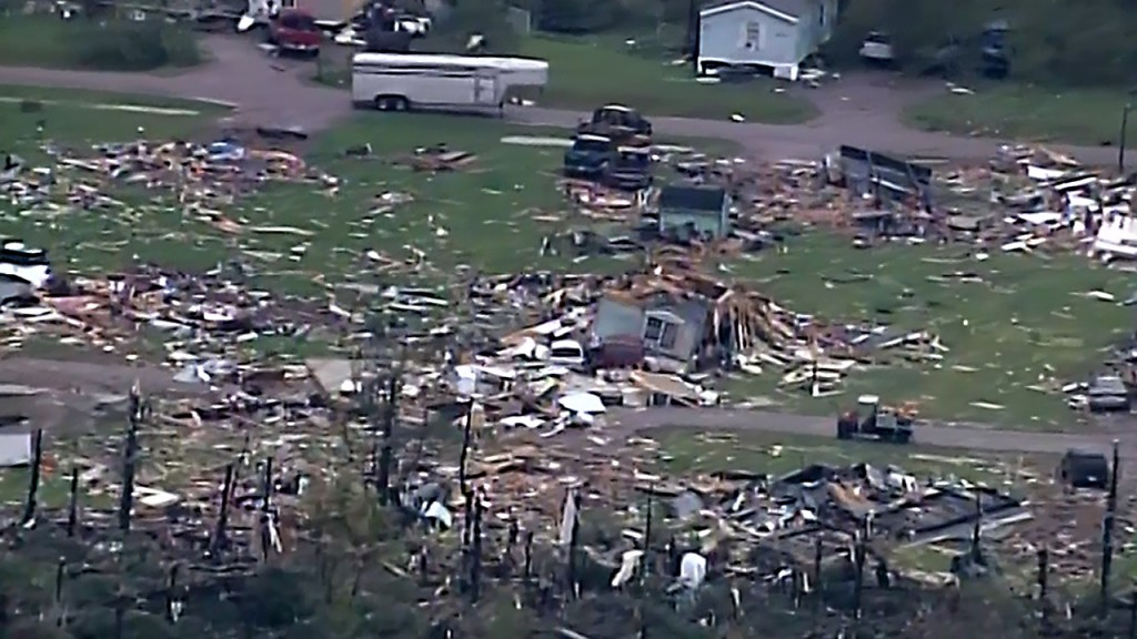 Deadly Wisconsin storm produced 83-mile long tornado track