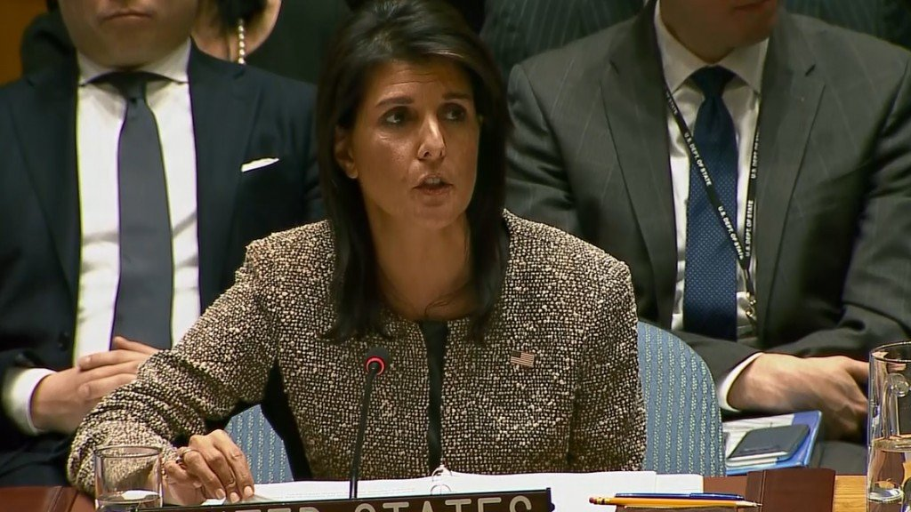 Haley: North Korea has brought the world 'closer to war'
