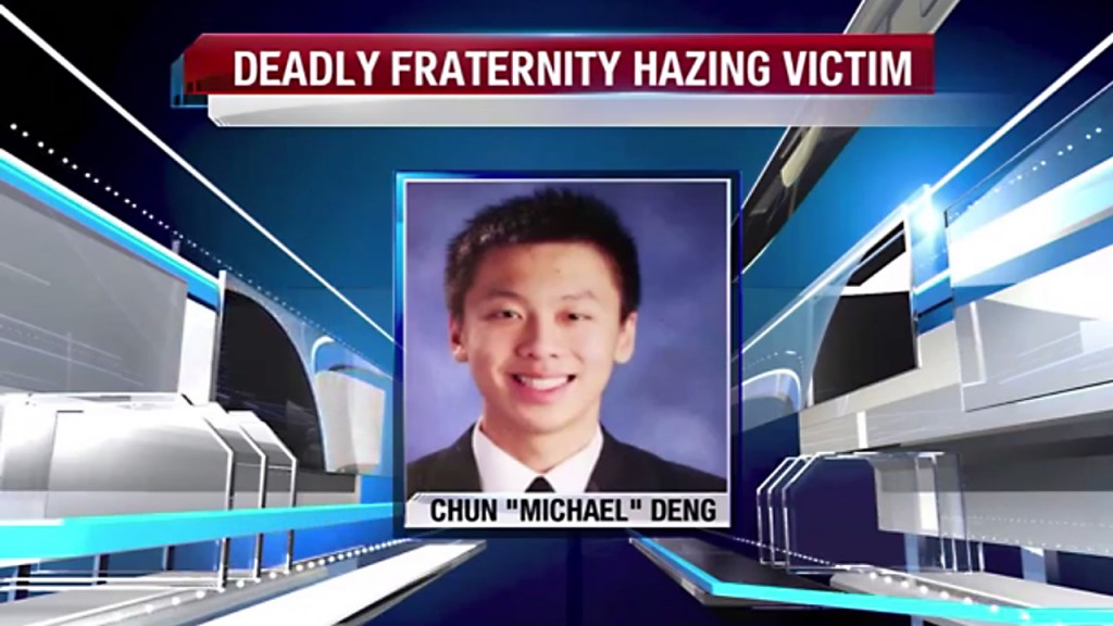 Fraternity, four men to be sentenced in 2013 hazing death