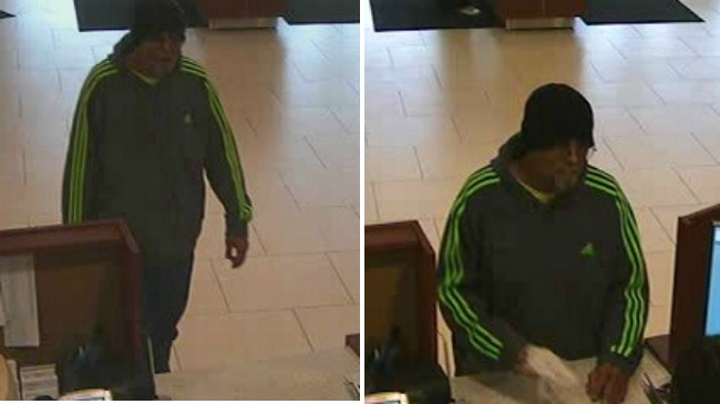Fitchburg police look for man who robbed Fish Hatchery Road bank