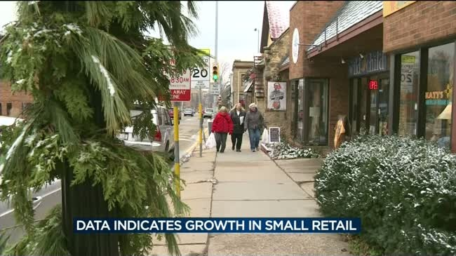 Data: Small retail business continues to grow
