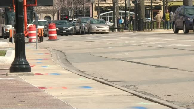 Capital Square construction project continues; Crews move to additional streets