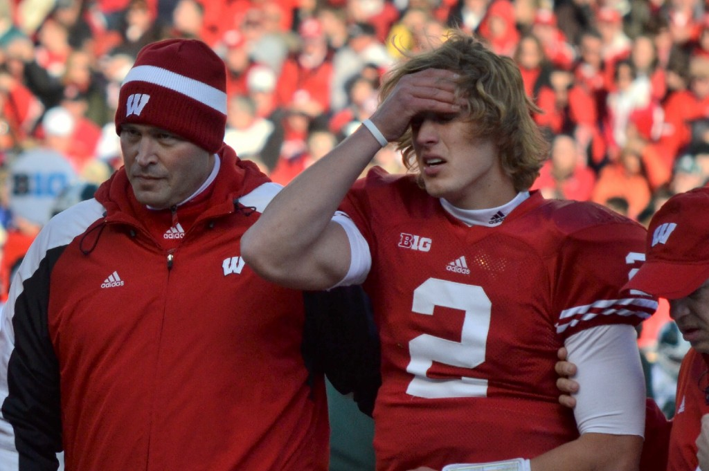 Badgers fall to Michigan State