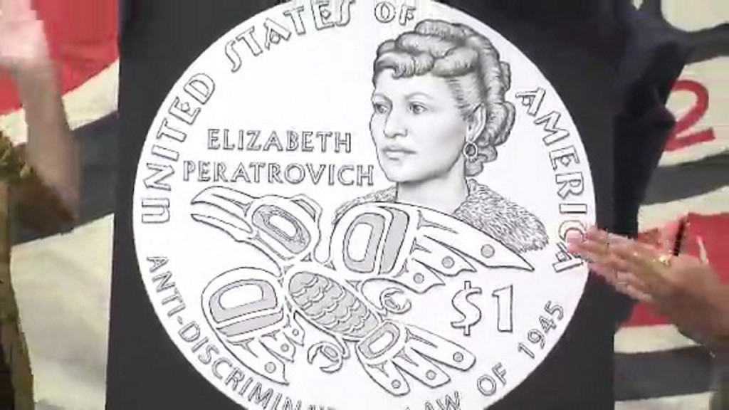 Alaska Native Elizabeth Peratrovich to be featured on $1 coin