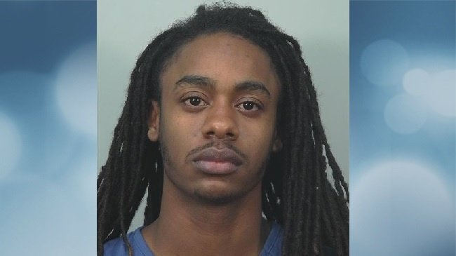 Expired plate leads police to seize gun, pot, arrest man
