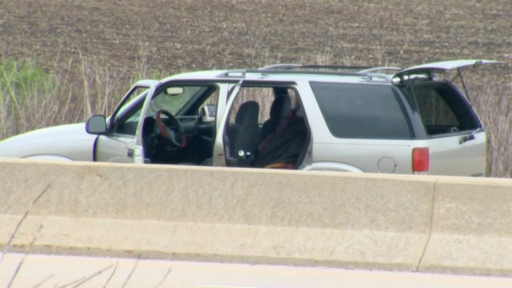 PHOTOS: All lanes of Interstate 39/90 closed after shots fired incident