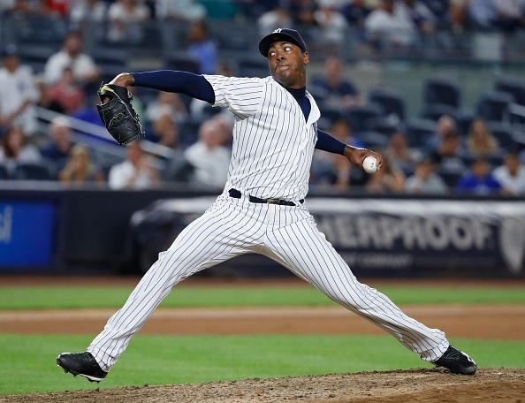 Cubs get closer Aroldis Chapman in trade with Yankees