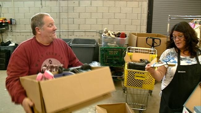 More than 100 brand-new pairs of shoes donated to Salvation Army