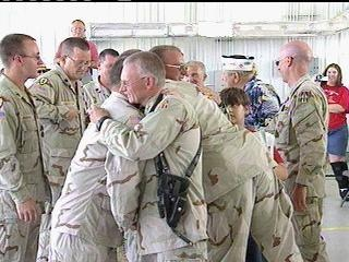National Guard troops return from overseas