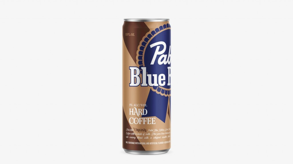 Like your coffee spiked? Pabst Blue Ribbon has the can for you
