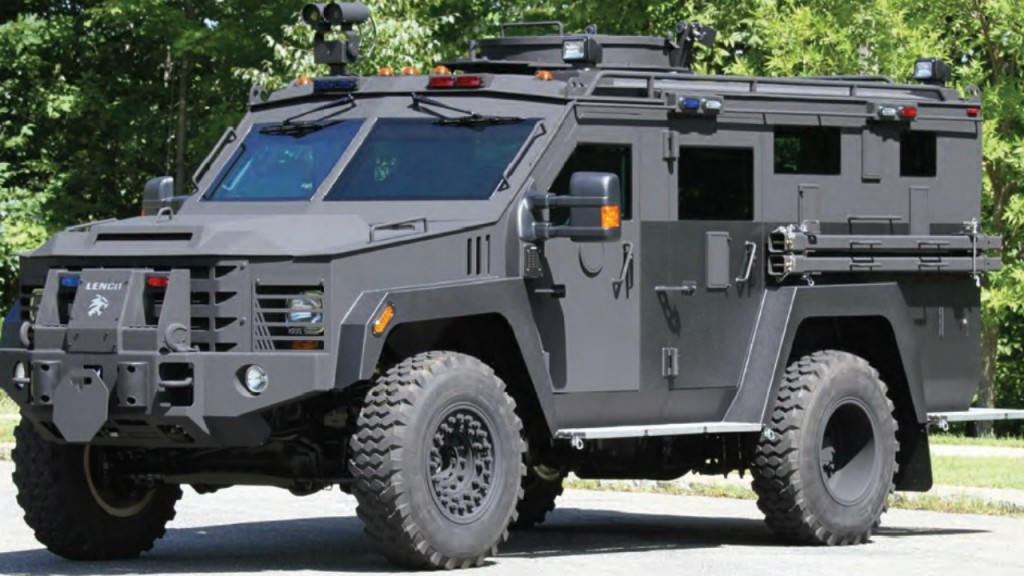 Sauk County to get new armored vehicle