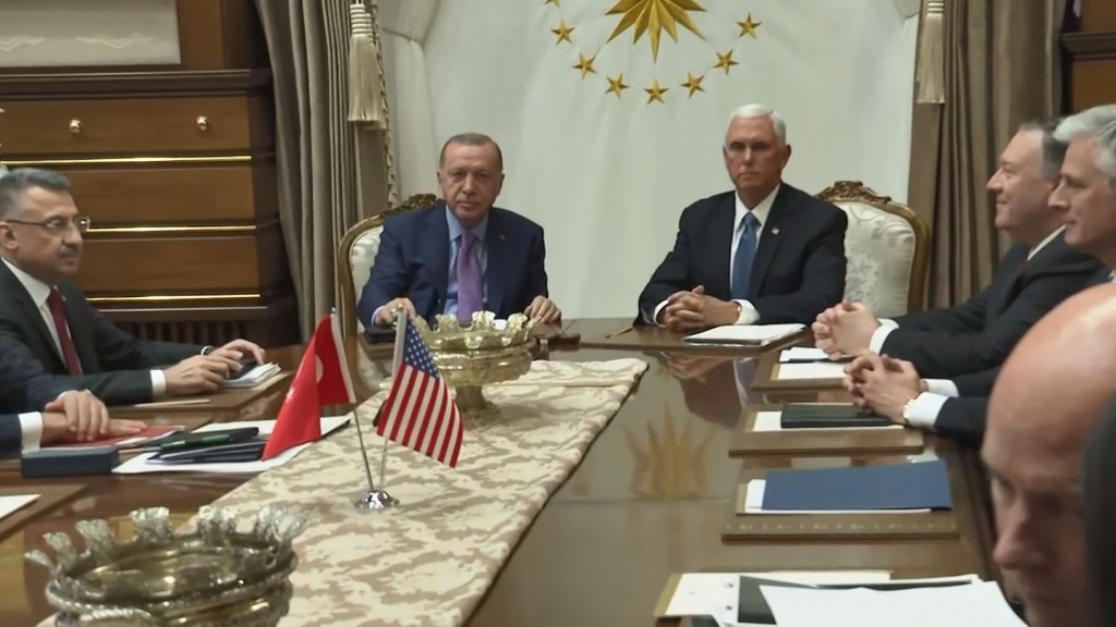 US, Turkey agree to ceasefire in Syria