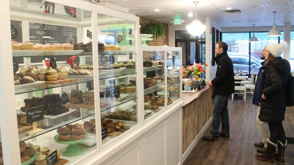 At Bloom Bake Shop, many of the baked goods are catered to gluten-free and vegan diners. Some delicious goodies include the doughnuts, pop tarts and whoopies.