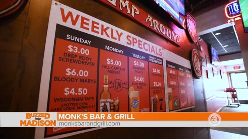 It's Holiday Time at Monk's Bar & Grill in Verona