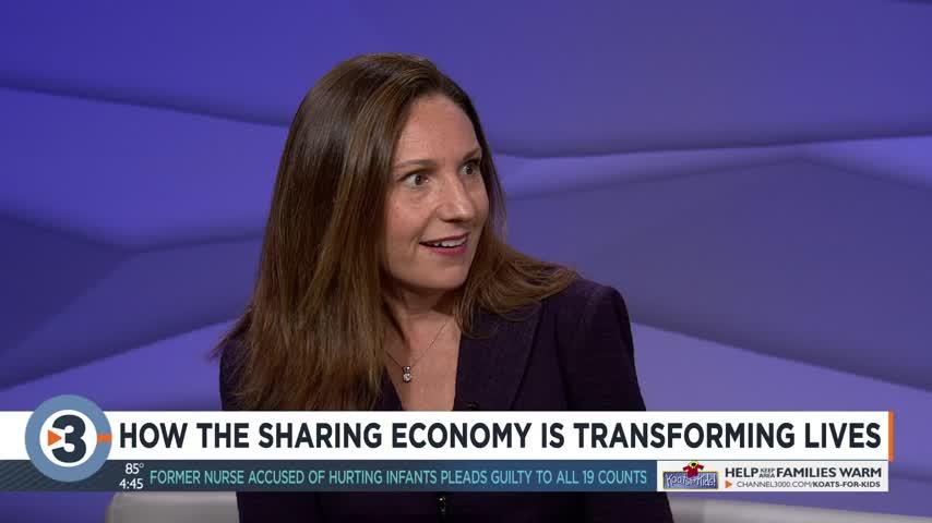 How the sharing economy is changing lives