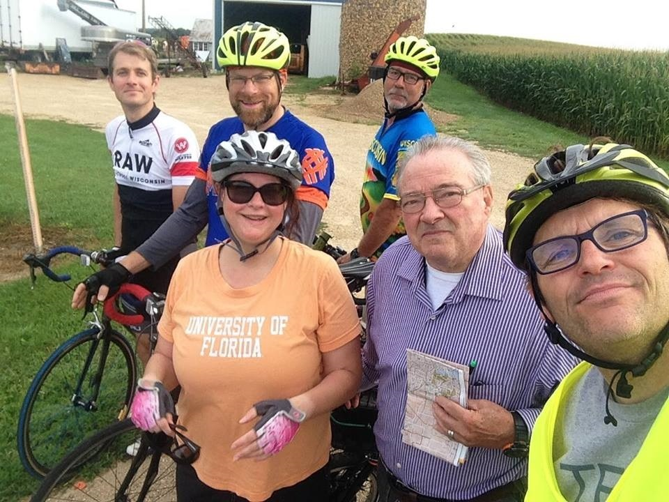 Cyclists remember fellow biker killed in hit-and-run crash