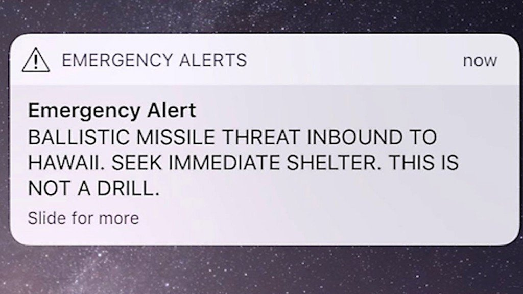 Employee who sent Hawaii's false missile alert not cooperating