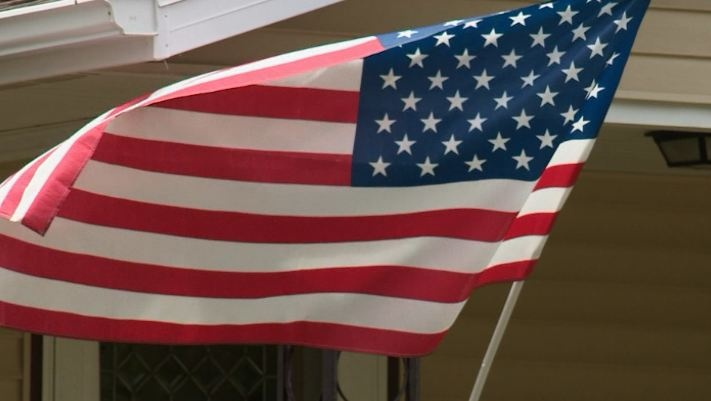 Cobb residents place flag on nearly every home, business