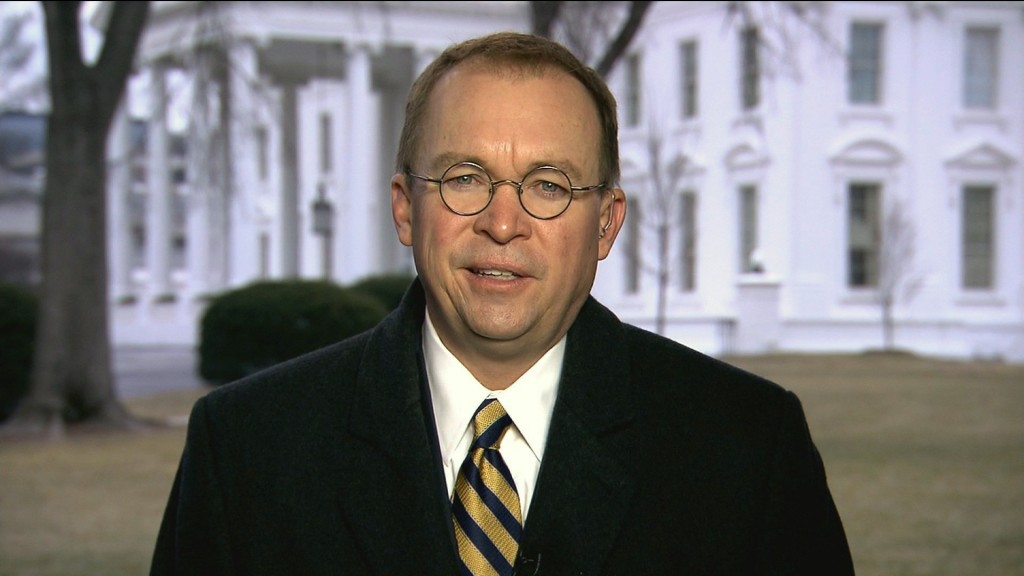 Mulvaney: Trump will use executive order if Congress won't fund wall