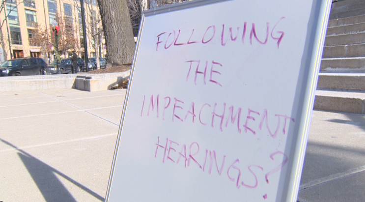 Attentiveness to impeachment hearings: Are people in Madison watching?