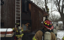 Blaze causes $10,000 damage to home on north side