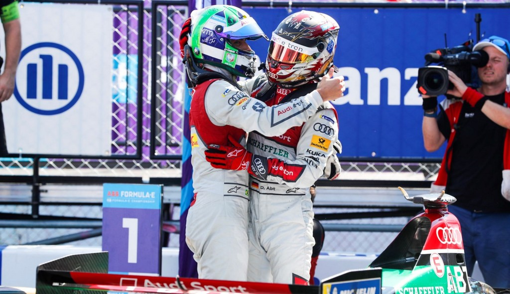 Formula E: Jean-Eric Vergne sets seal on title triumph as Audi Sport takes team crown