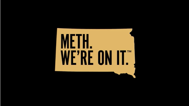 South Dakota launches 'Meth. We're on it.' campaign