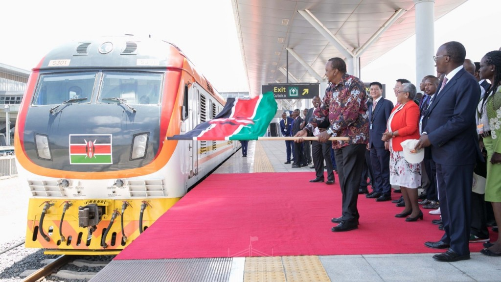Kenya launches second phase of billion-dollar Chinese railway project
