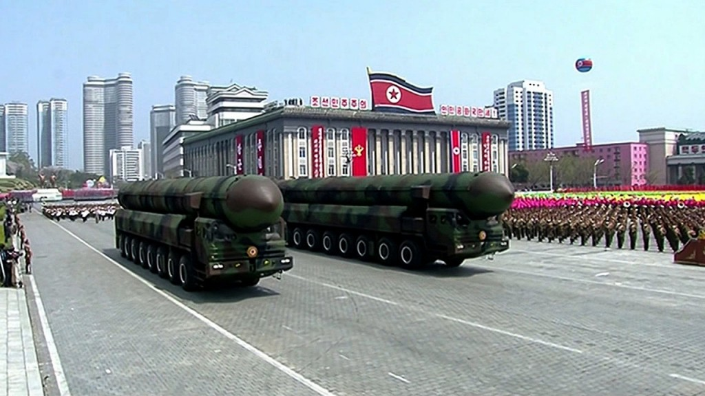 North Korea to parade missiles before Winter Olympics