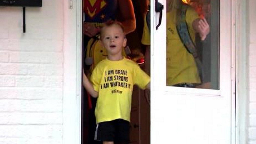Young cancer survivor gets a special birthday surprise