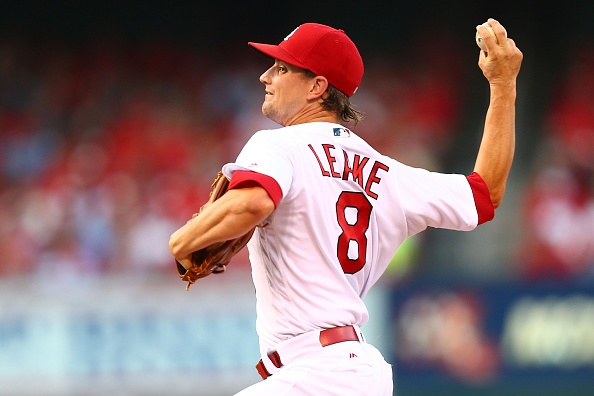 Leake solid as Cardinals rout Padres