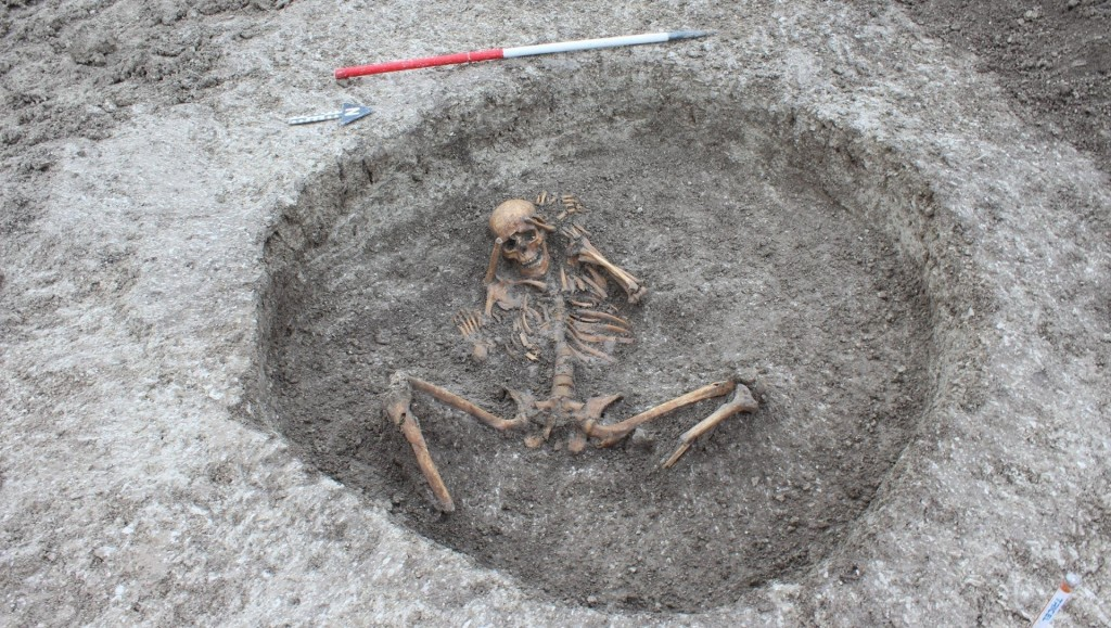 Victims of 'human sacrifice' found in UK by engineers laying water pipes
