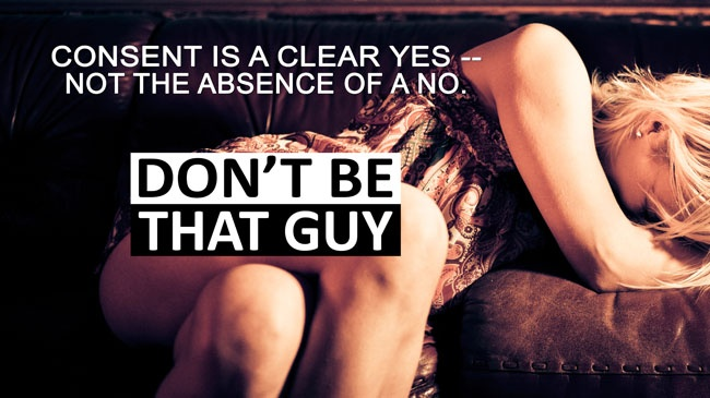 UW sexual assault awareness campaign says 'Don't be that guy'