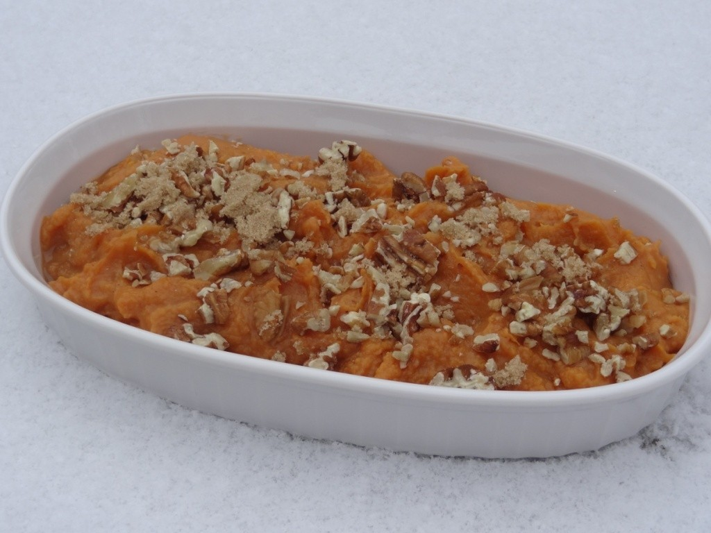 Donna's Maple Mashed Sweet Potatoes